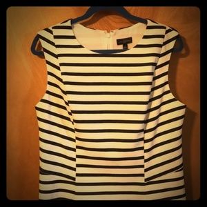 The Limited | Blue and White Stripe Dress | SZ 12